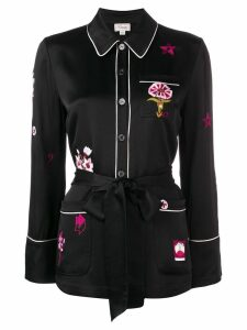 Temperley London Georgie shirt - Black