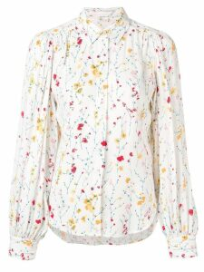 Equipment floral print shirt - White