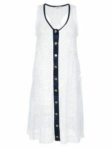 Amir Slama lace beach dress - White