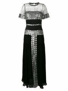 Temperley London Luminary sequined dress - Black