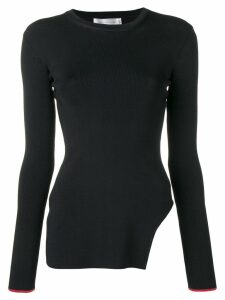 Victoria Beckham side cut out sweater - Black