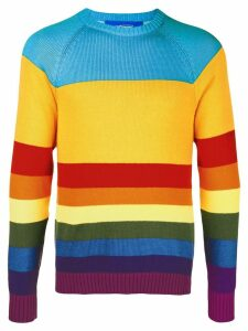 Anton Belinskiy striped jumper - ORANGE