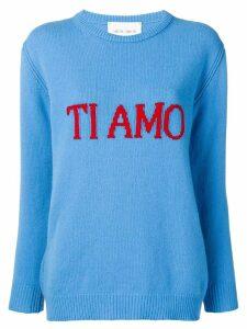Alberta Ferretti Ti Amo sweater - Blue