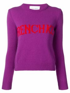 Alberta Ferretti French Kiss sweater - Purple