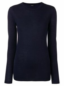 Joseph round neck jumper - Blue