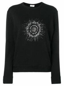 Saint Laurent printed sweatshirt - Black