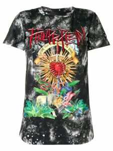 Philipp Plein faded printed T-shirt - Black