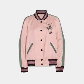 Coach Reversible Souvenir Varsity Jacket
