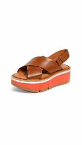 Clergerie Anae Crisscross Sandals