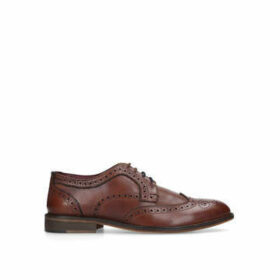 Kurt Geiger London Barlow - Tan Leather Brogue Shoes