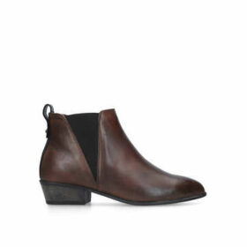 Carvela Comfort Tony - Tan Leather Ankle Boots