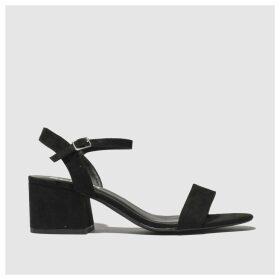 Schuh Black Harmony Low Heels