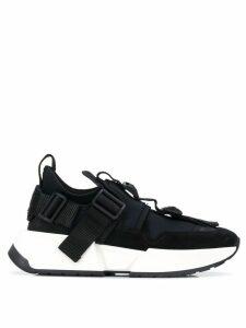 Mm6 Maison Margiela buckle sneakers - Black