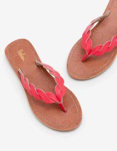 Clementine Flip Flops Pink Women Boden, Pink