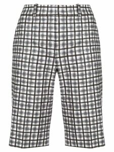 Michael Kors Collection check bermuda shorts - Black
