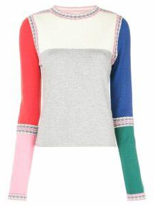 Rosie Assoulin colour block sweater - Multicolour