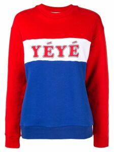 Être Cécile YEYE boyfriend sweatshirt - Red