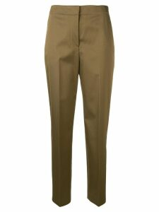 Theory Clean tapered trousers - Brown