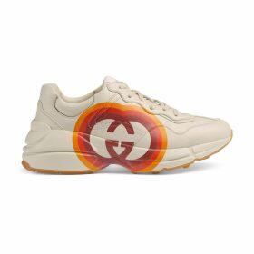 Women's Rhyton sneaker with Interlocking G