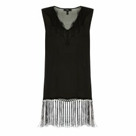 Nissa - Top With Tassel & Pearl Trimming