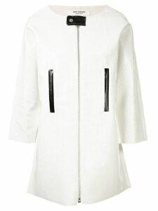 Junya Watanabe Comme des Garçons Pre-Owned 2D boxy jacket - White