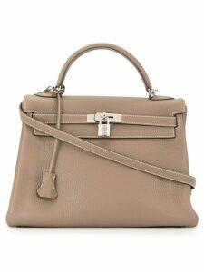 Hermès 2006 pre-owned Kelly 32 2way handbag - Brown