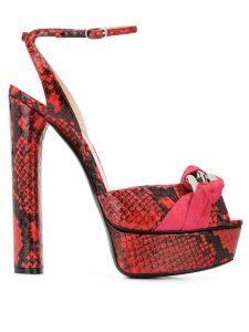 Casadei Flora Hydra sandals - Red