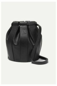LOW CLASSIC - Leather Bucket Bag - Black