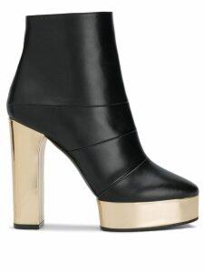 Casadei Manu platform boots - Black