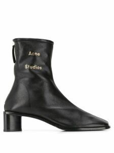 Acne Studios branded ankle boots - Black