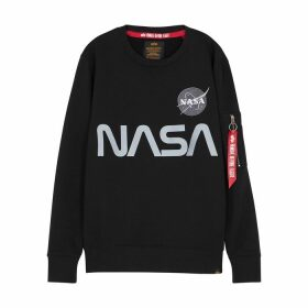 Alpha Industries NASA Reflective Cotton-blend Sweatshirt