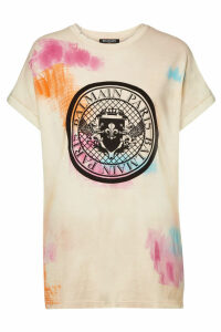 Balmain Printed Cotton T-Shirt