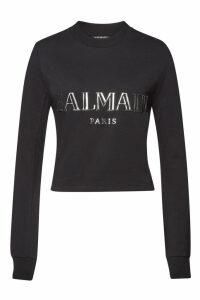 Balmain Cotton Top with Embellishment