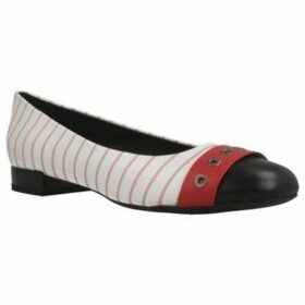 Geox  D WISTREY  women's Shoes (Pumps / Ballerinas) in White