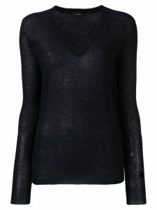 Joseph v-neck jumper - Blue