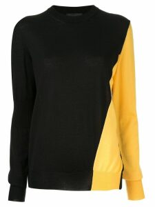 Calvin Klein 205W39nyc two-tone jumper - Black