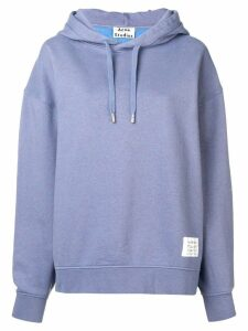 Acne Studios loose fit hoodie - Blue