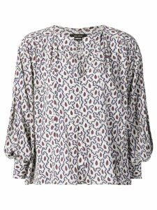 Isabel Marant loose fit blouse - Blue
