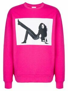 Calvin Klein Jeans Est. 1978 Icon Print sweatshirt - PINK