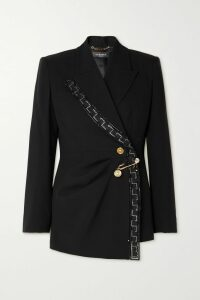 Proenza Schouler - Pswl Tie-dyed Stretch-denim Shorts - Navy