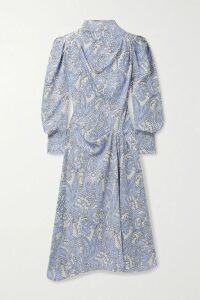 Balenciaga - Oversized Printed Cotton-jersey Hoodie - Red