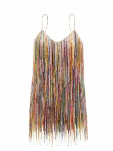 Barrie - Thistle League Bouclé Intarsia Cashmere Sweater - Womens - Black White