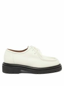 Barrie - Thistle League Bouclé Intarsia Cashmere Sweater - Womens - Green Multi