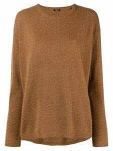 Aspesi crew neck sweater - Brown