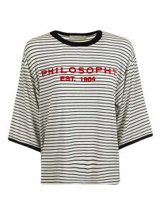 Philosophy di Lorenzo Serafini Oversized Logo Script T-shirt