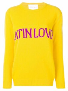 Alberta Ferretti Latin Lover sweater - Yellow