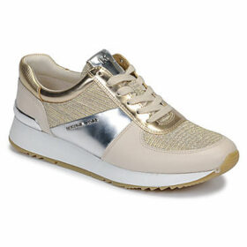 MICHAEL Michael Kors  ALLIE TRAINER  women's Shoes (Trainers) in Gold