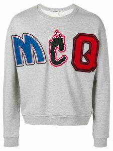 McQ Alexander McQueen logo sweatshirt - Grey
