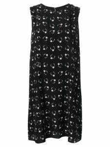 Boutique Moschino flared short dress - Black