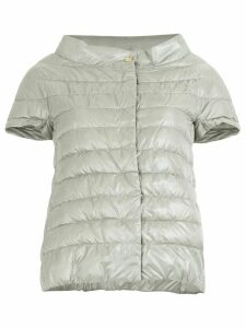 Herno shortsleeved puffer jacket - Grey